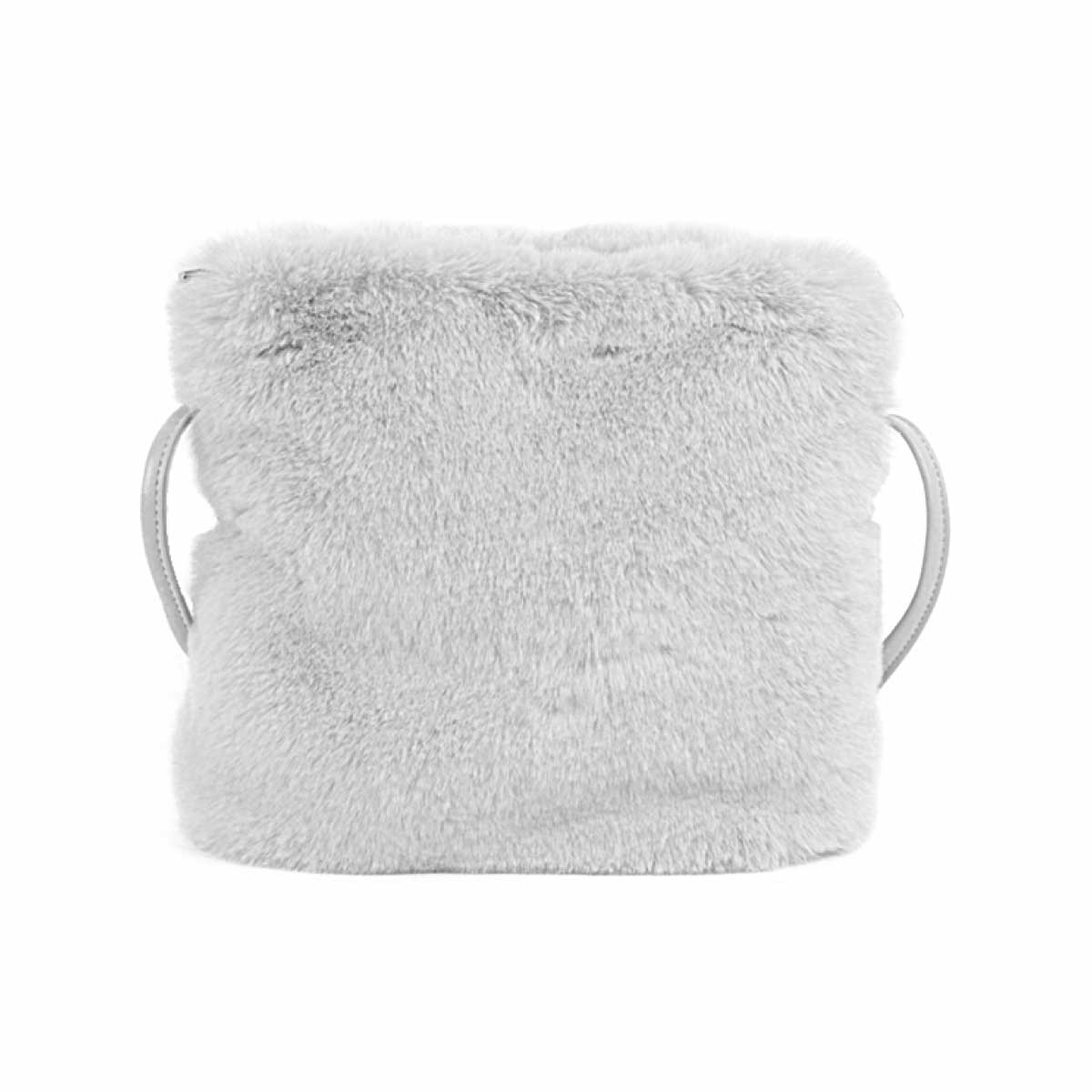 【予約販売】(8月中旬納品)冬 ファー ショルダーバッグ [ビビ] / レディース バッグ