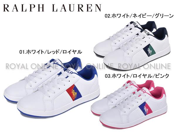 S)【ポロ ラルフローレン】オルモンド スニーカー 全3色 レディース