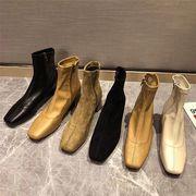 早い者勝ちです!ブーツ 女性靴 レディース シューズ ブーティー ショートブーツ 秋 新品 韓国 ローヒール