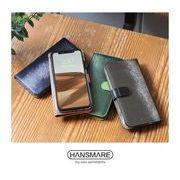 HANSMARE CALF FLIP CASE iPhone Case 手帳型ケース