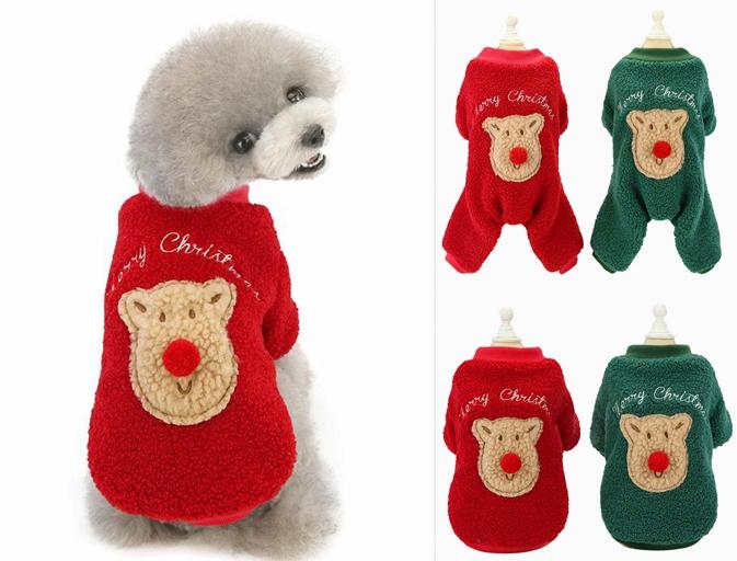 クリスマス 中小型犬服  可愛い ペット服 犬服 猫服 犬用 ペット用品 ネコ雑貨 ドッグウエア ネコ雑貨