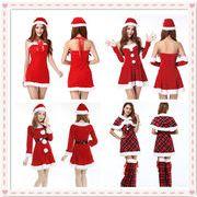 クリスマス衣装 レディース コスプレ 変装 サンタコスチューム
