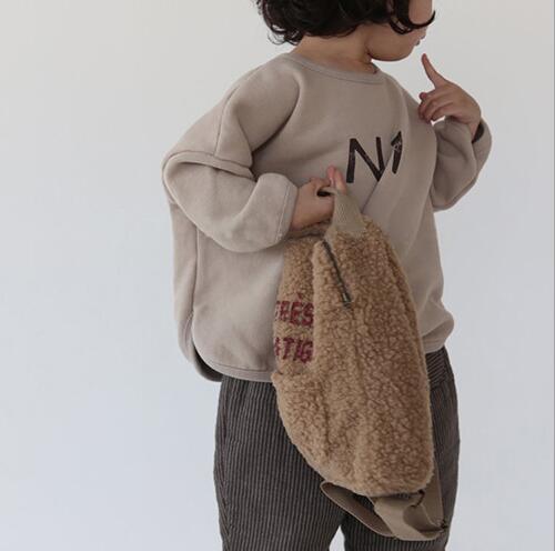 春新作キッズファッション♪子供 裏起毛付き トップス 80-130cm 人気 新品