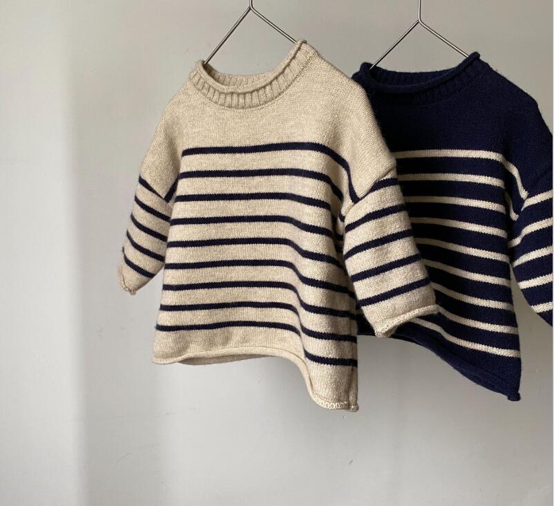 秋冬新作 ニットセーター 男女兼用 キッズ服 韓国子供服トップス セーター