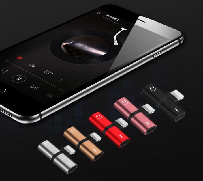 iPhone イヤホン 充電しながら iPhone 変換ケーブル iPhone 7/8イヤホン変換アダプター