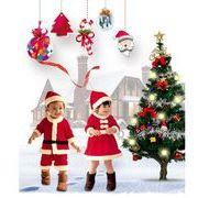 クリスマス衣装 子供服 クリスマスツリー ピエロ サンタ コスプレ サンタクロース衣装 仮装 コスチューム