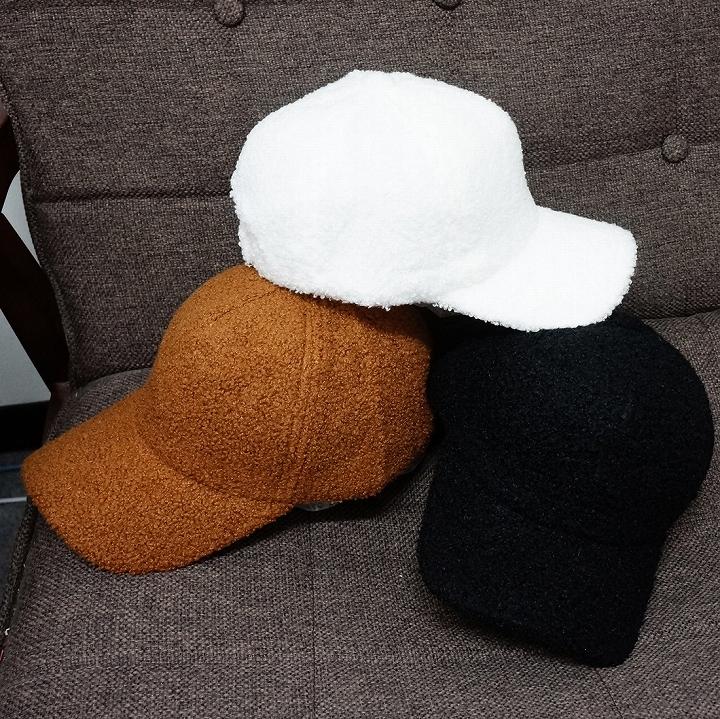 帽子 キャップ フェイクファー プードルファー メンズ レディース モコモコ 春 秋 冬 キーズ Keys