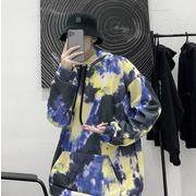 2020秋冬新作 メンズ  カジュアル トップス  長袖  帽子付け  スウェット  アウター  コート 2色 M-2XL