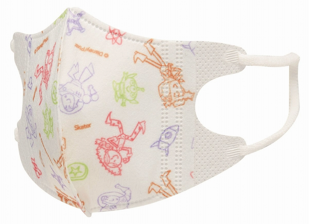 【即納】ベビー 立体マスク 5枚入り トイストーリーB