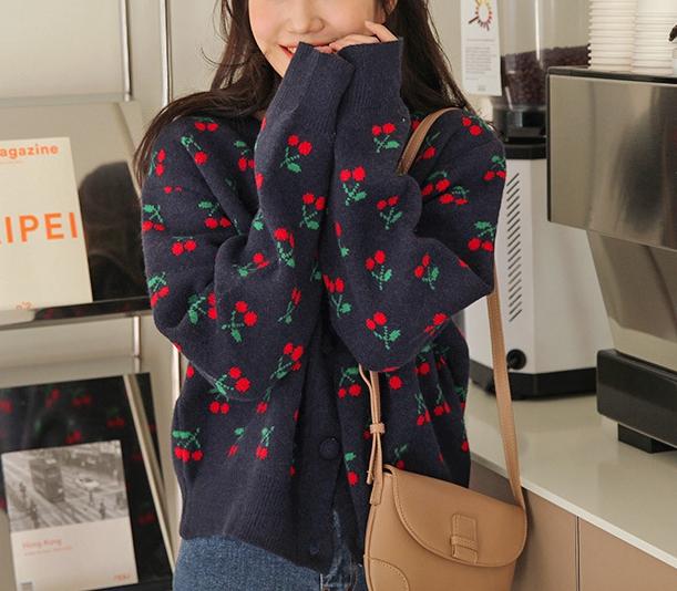 韓国ファッション INSスタイルシャツ セーター アウター ショットタイプ 上着 ニット トップス レディース