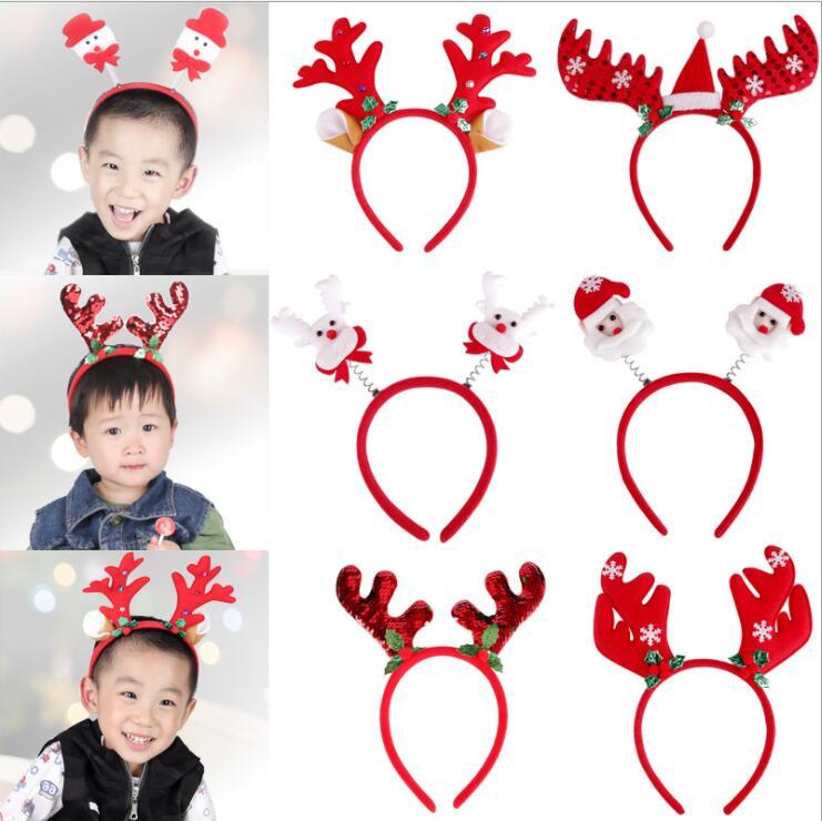 クリスマス飾り 装飾品 クリスマスのヘッドバンド、子供 かわいいクリスマスヘッドバンド