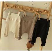 パンツ 秋冬 子供 66-90 ズボン ベビー 厚手 裏起毛 韓国ファッション カジュアル