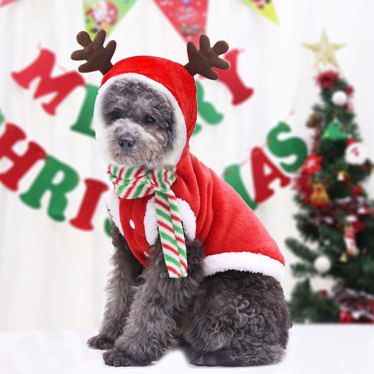 新作小型犬服 超可愛いペット服 犬服 猫服 犬用 ペット用品 ペット雑貨クリスマス