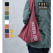 【POSTGENERAL】ポストジェネラル ショッパーバッグ 8色