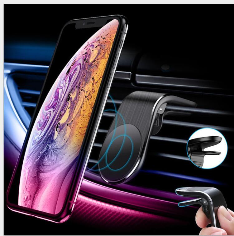 スマホホルダー 車 車載ホルダー スマホスタンド マグネット エアコン 送風口 携帯 スマートフォン