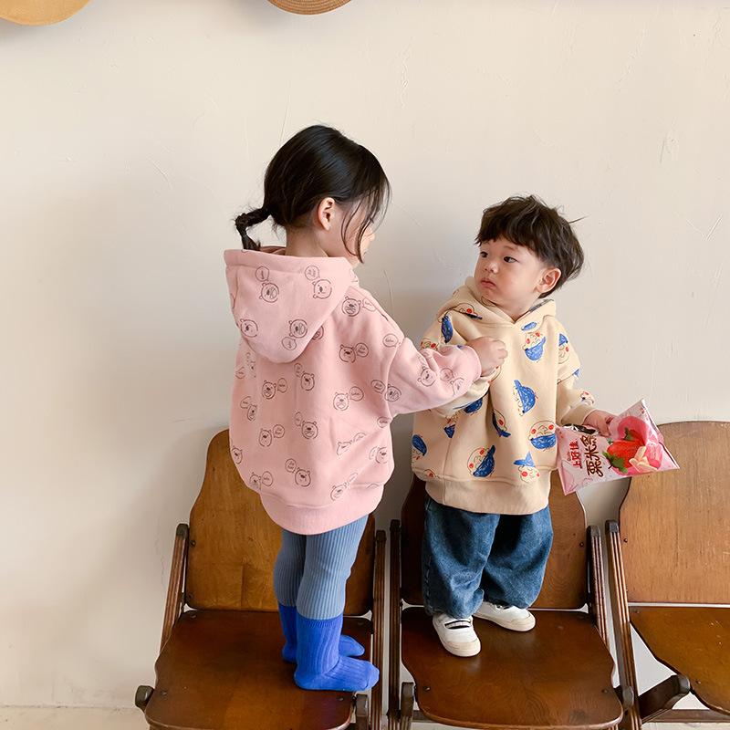 m16765 ジャケット コート カジュアル キッズ 男女兼用 厚手 韓国子供服   秋冬新作 SALE 厚手 動画あり