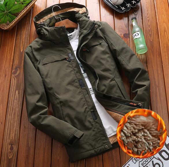 秋冬人気物 メンズジャケット 裏ボア 暖かいライトジャケット