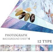 ネイルチップ撮影用シート(デザインペーパー)4 インスタ SNS サロンの宣材用に 全12種