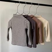 【KID】暖かい タートルネックセーター  Tシャツ 全4色