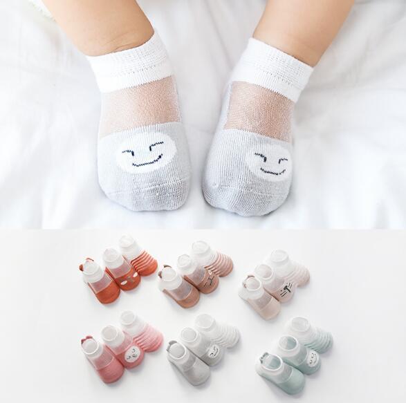 【3枚から】ベビー靴下 夏 子供 キッズ  0-5歳 新作 可愛いソックス ベビー用靴下 ファション