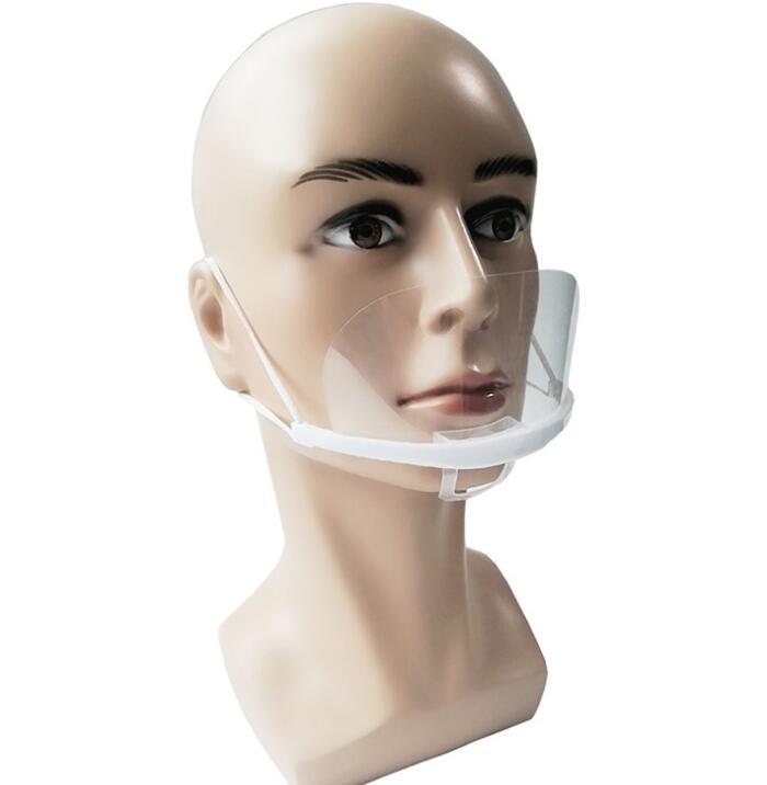 プラスチック マスク 透明