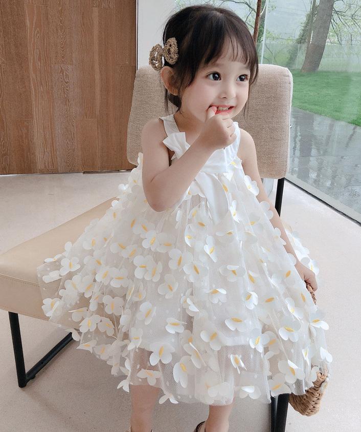 人気商品 女の子 スカート ワンピース お姫様ドレス 夏服 新作 子供服 3-8歳 韓国子供服 キッズ服