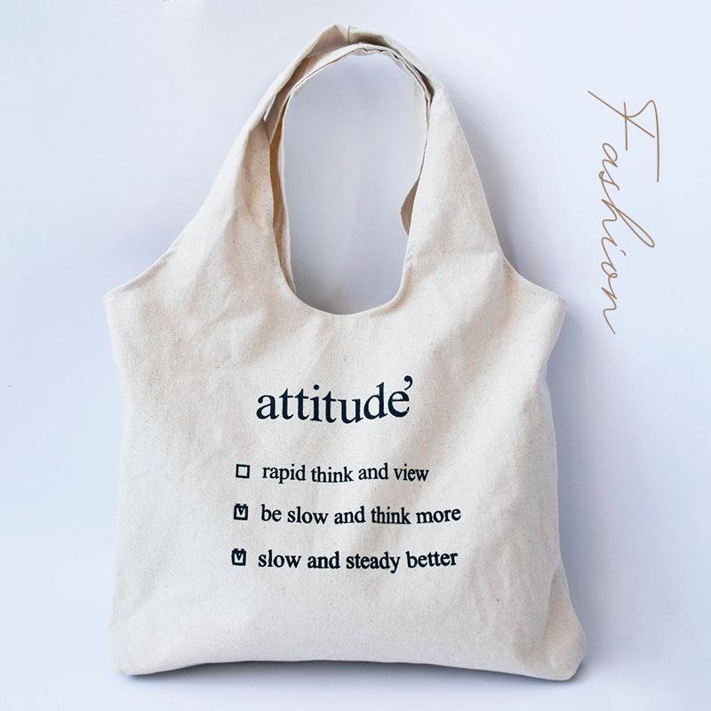 【BAG】英文字不織布袋 エコバッグ