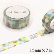 mt for kids ジグソーパズル マスキングテープ 15mm×7m