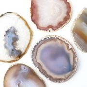 メノウ コースター ディスプレイ グレー めのう 瑪瑙 インテリア 天然