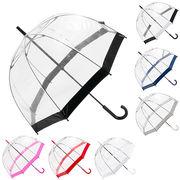 【即納】fulton   フルトン 雨傘  birdcage ビニール傘 L041