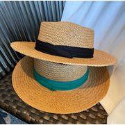 INSスタイル 小顔 帽子 キャップ ハット 日焼け止め 麦わら帽子
