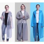 新作  インコート 男女兼用型 レインコート 雨具 ゆったり防水レインコート 保護カッパ