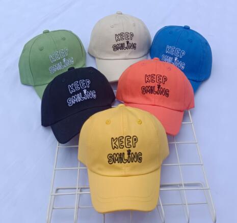 帽子 キャップ 野球帽 キッズ 子ども 日焼け止め 英字 シンプル カジュアル トレンド 人気