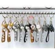 にゃんこストラップ 全9種 1個 キーホルダー キーチャーム バッグチャーム 猫 ねこ ネコ strap013