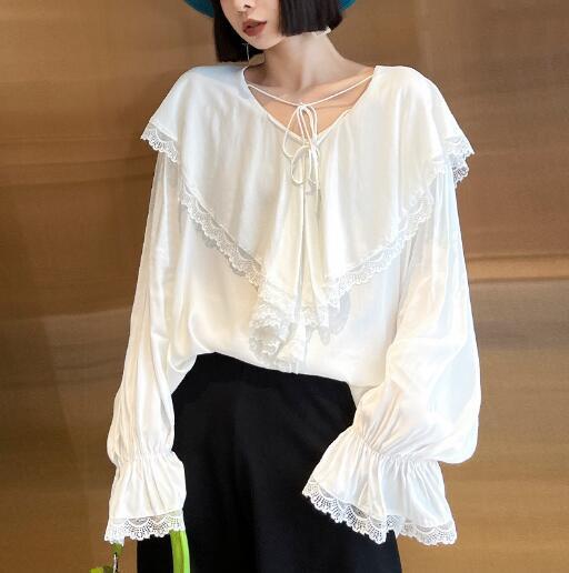 u18016  Tシャツ 大きいサイズ 春夏新作 シャツ  レディース SALE 長袖 ファッション INS 人気