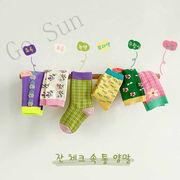 2021年春夏新作★GoSun★子供靴下◆キッズ ソックス 通気性良い 運動靴下★3足セット