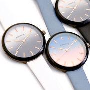 ▼MAGGIO▼【洗練されたグラデーション☆】グラデーションフェイスレザーウォッチ(腕時計)