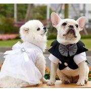 春夏新作 小型犬服★超可愛いペット服★ドレス★猫服★犬用ウェディングドレス★ペット用品★ネコ雑貨★
