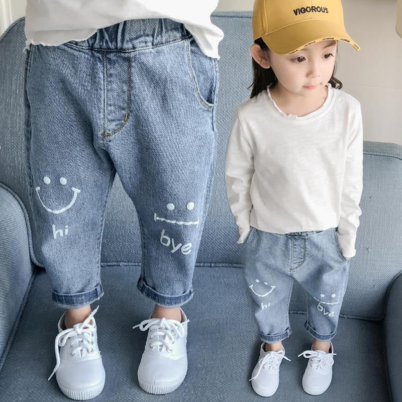 韓国風 デニムパンツ 子供ズボン キッズファッション★可愛い