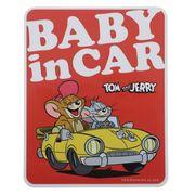 【ステッカー】トムとジェリー 車用ステッカー ジェリーとタフィー