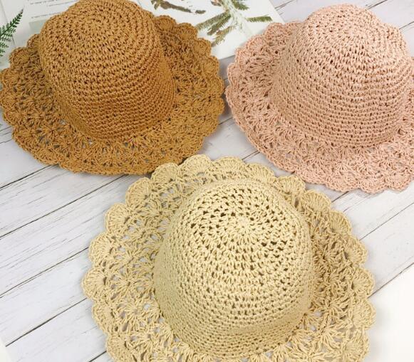 帽子 キャップ キッズ 子ども 女の子 夏 折り畳み 日焼け止め トレンド おしゃれ