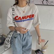 韓国 韓国ファッション レディース Tシャツ ロング丈 カジュアル