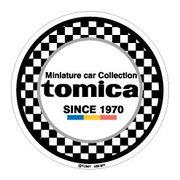 LCS371 大人トミカ ダイカットビニールステッカー02 TOMICA 車 ロゴ 公式