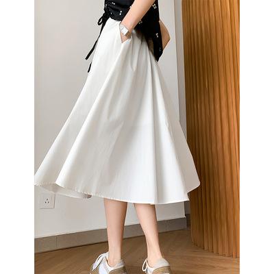 2021年春夏新作 レディース 韓国風 スカート 無地 気質 通勤 ファッション 3色M-L