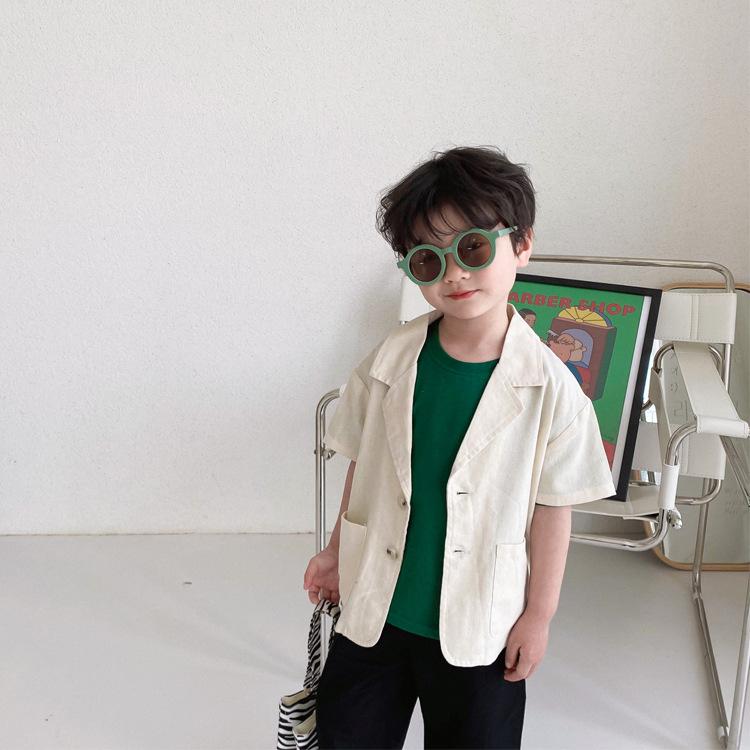 コート 子供服  韓国風 男の子 カーディガン   キッズ トップス アウター おしゃれ
