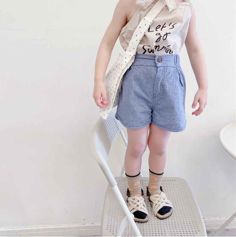 夏 子供服 ショートパンツ 男の子 女の子 韓国スタイル ゆったり パンツ カジュアルパンツ キッズ服