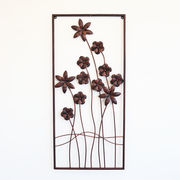 【直送可】ウォールアートパネル 壁掛け 壁飾り ブラウン