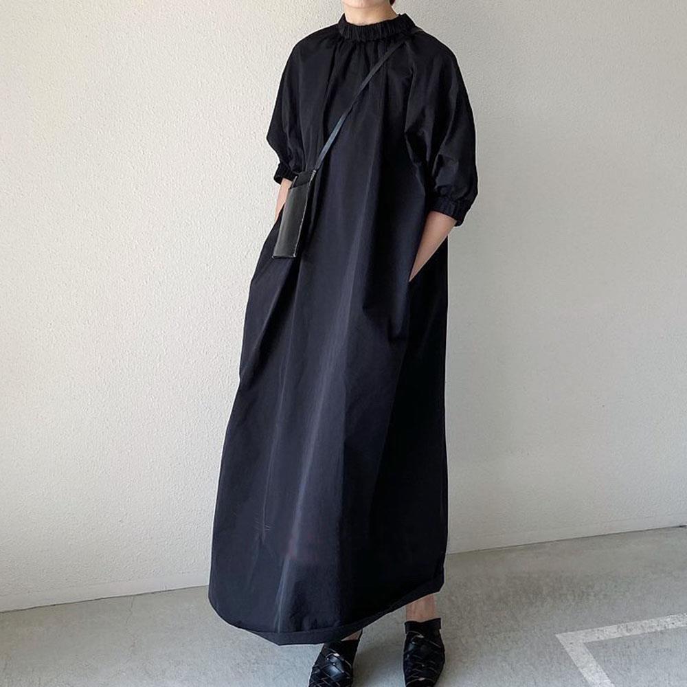 2021年夏新作 レディース 韓国風 ワンピース ゆったりする 気質 通勤 ファッション 2色フリー