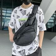 ショルダーバッグ ウエストバッグ   メンズ フィッシングバッグ 防水 大容量 ブラック