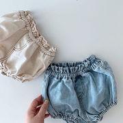 2021年夏新作 子供服 キッズ ベビー服 韓国風 パンツ 男の子 女の子 2色66-100